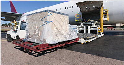 Transporte aéreo <br> EP Standard Air Freight